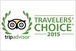 Trip Advisor 2015 Award